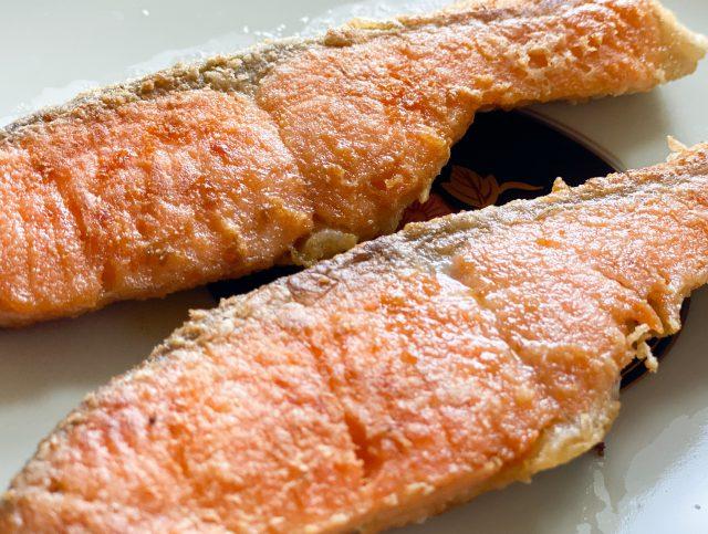 銀鮭のムニエルの画像